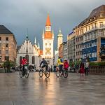 Marienplatz after Rain, Munich, Germany