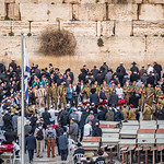 Singing Soldiers at the Western Wall, Jerusalem