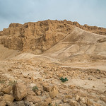 Masada and the Roman Siege Ramp, Israel
